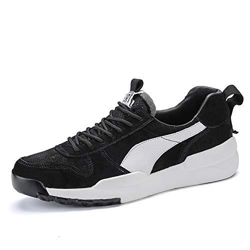 Tela Seasons Calzado Unisex Negro Usar Cuero Tabla Hombre De Zapatillas Wwjdxz Casual Zapatos Puede Four qwETARxgB