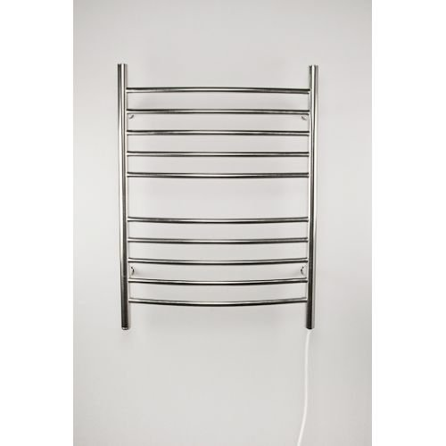 [해외]Amba RWP-C 곡선 형 스테인레스 스틸 타올 Warmer - 방사형 24W 플러그 - 110-120V,/Amba RWP-C Radiant 24 W Plug In Curved Stainless Steel Towel Warmer - 110-120V,