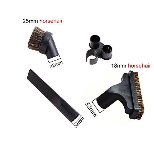 vacuum attachment kit horsehair - 1