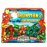 Marvel Super Hero Squad Iron Man 2 Movie Armor Wars Part II Battle Pack