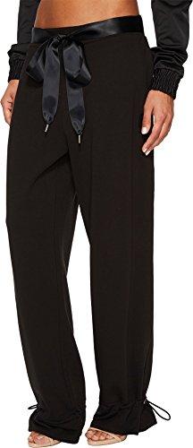 PUMA Women's Fenty Gathered Ankle Sweatpants Cotton Black X-Small by PUMA (Image #1)