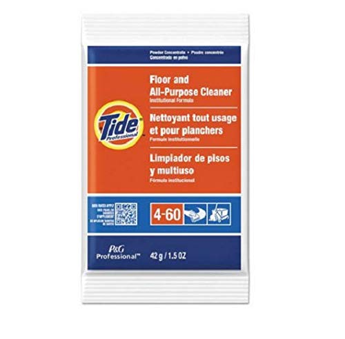 - Tide 2370 Floor amp; All-Purpose Cleaner, 1.5oz Packets, 100/Carton