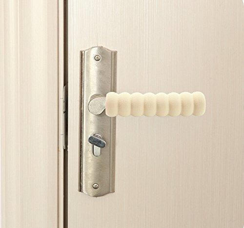 Coolty 5 Piezas Manija de la Puerta Protector Beb/é Ni/ños Seguridad Funda Guarda Protector