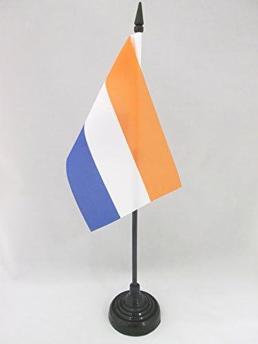 AZ FLAG Nepal Table Flag 4 x 6 Nepalese Desk Flag 15 x 10 cm golden spear top