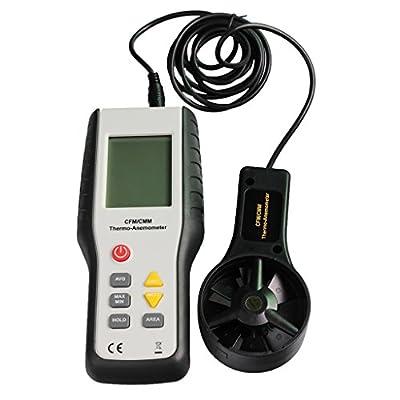 MagiDeal HT-9819 Handheld Mini LCD Display Wind Speed Gauge Meter Measure Anemometer
