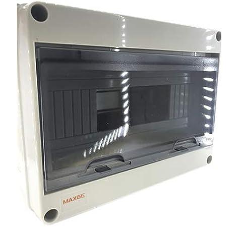 Famatel 3912-T - Caja icp-65 12 elementos con puerta transparente ...