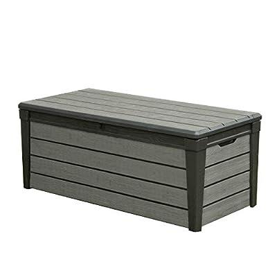 Keter Brushwood 120 G Plastic Garden Storage Box