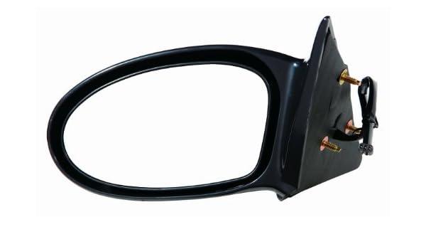 NEW LEFT POWER DOOR MIRROR BLACK FOR 2002-2005 PONTIAC GRAND AM GM1320257