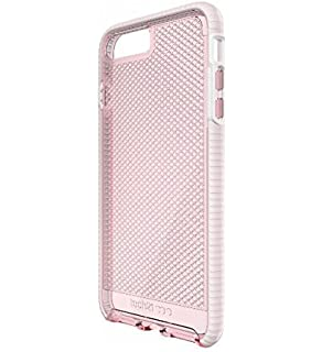 469b2adea9c Amazon.com: Tech21 Evo Check for iPhone 7 - Light Rose/White: Cell ...