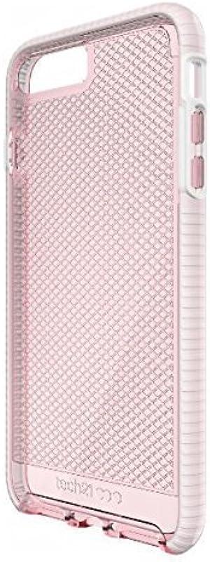Tech21 - Evo Check Case for iPhone 7 Plus 5.5 Inch (Rose/White)