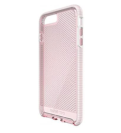promo code acd69 39ce6 Tech21 - Evo Check Case for iPhone 7 Plus 5.5 Inch (Rose/White)