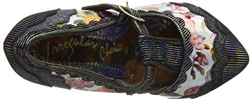 mujer Zapatos Punchm Black Rum Irregular Multi Choice Negro Tacón de wRZHwYxqn