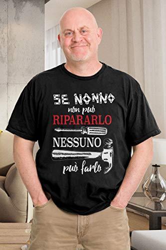 Maglietta Nero Nonno Da Shirtgeil Può Non Regalo Se Nessuno Farlo Ripararlo Uomo 8qxwPB