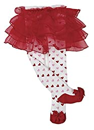 Bearington Baby Sweetheart Tutu Tights, 0-6 Months