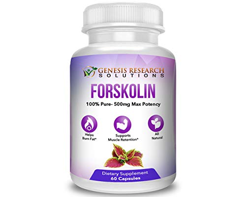 Pure Forskolin Dietary Supplement, Appetite Suppressant for Weight Loss & Muscle Retention. Plus Metabolism & Energy Booster – 100% Natural Supplement Extract 1 Pack For Sale