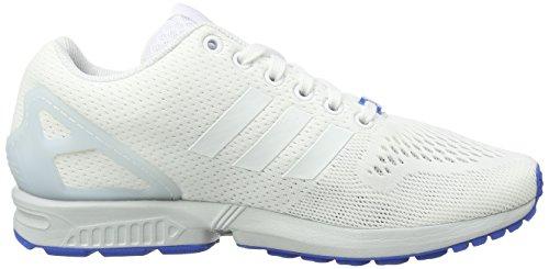 adidas ZX Flux - Zapatillas de gimnasia Hombre Ftwr White/Ftwr White/Clear Grey