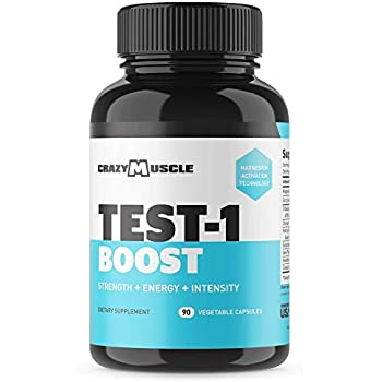 Amazon Com Test Booster 1500 Natural Free Testosterone