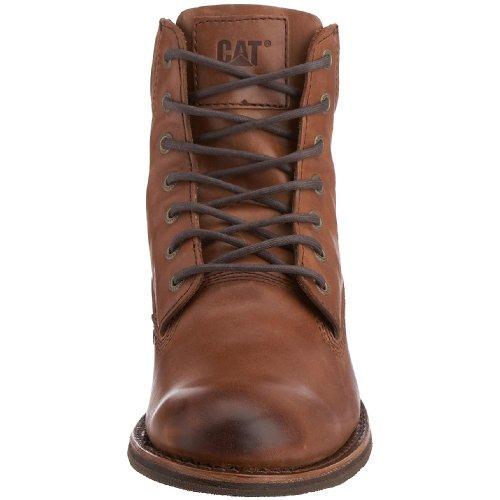 Cat Footwear - Botas de cuero para hombre Marrón (Marron)