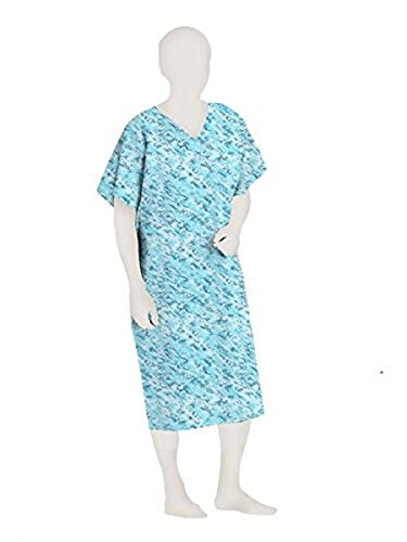 POLYESTER PATIENT GOWN (5X, Light (Shamrock Gown)