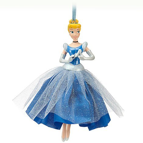Disney Cinderella 'Bibbidi-Bobbidi-Beautiful' Sketchbook Ornament