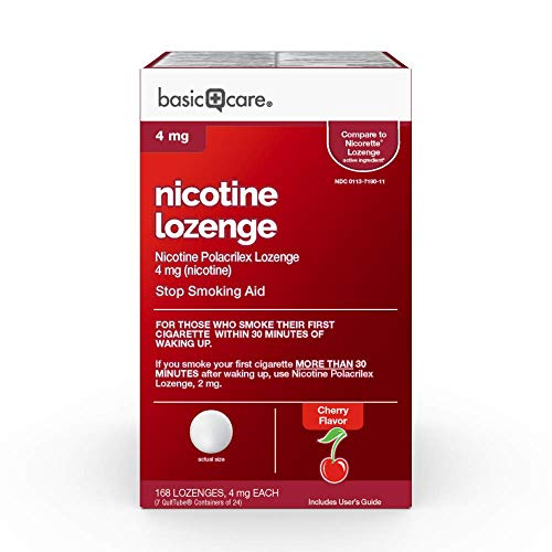- Basic Care 12844 Nicotine Lozenges, 168 Count