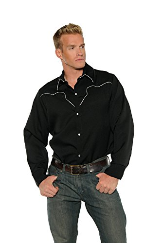 Men's Cowboy Costume - Shirt (Halloween Costumes Cowboy)