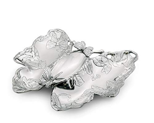 Arthur Court Butterfly Chip and Dip Tray