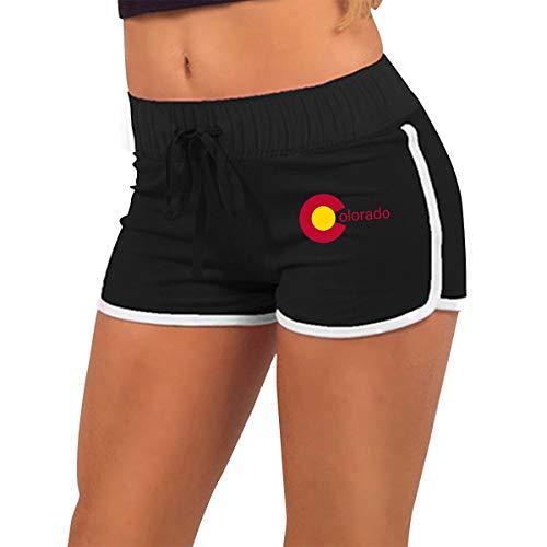 Wytgd Reisjk The State of Colorado Girls Drawstring Elastic Tight Short Pants XL Colorado State University Blanket