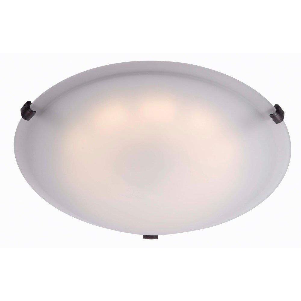 Kenroy Home 90675ORB Aero LED Large Flush Mount, Oil Rubbed Bronze