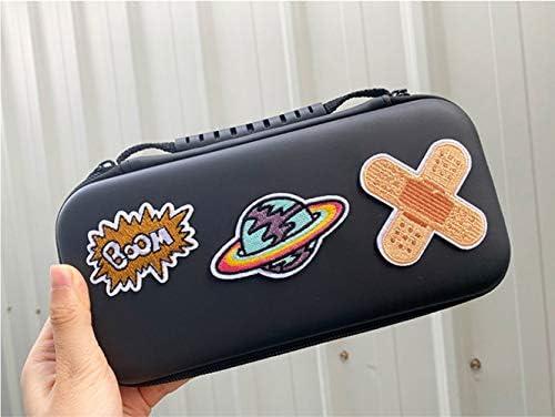 Nintendo switch ケース 9Hガラスフィルム 親指キャップ 任天堂用 ニンテンドー スイッチ カバー 保護 ソフト ゲームカード 収納バッグ カード収納 かわいい (色 : 純色-グリーン)