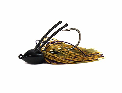 Fitzgerald Fishing Texas Jig (Rootbeer Candy, 1/2 oz) (Heavy Duty Adjustable 1/2 Punch)