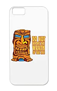 Tiki Trouble Brown Anti-scuff Art Wrath Tiki Orange Illustration Drawing Illustration Art Design Protective Hard Case For Iphone 5c