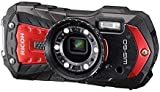 RICOH 60 16 Waterproof Digital Camera with 2.7-Inch LCD, Red (WG-60 Red)
