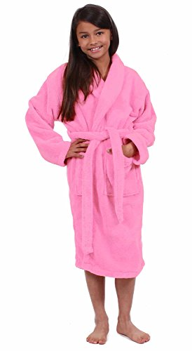 (Turkuoise Girls Ultra Soft Plush Bathrobe Made in Turkey)