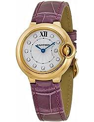 Cartier Women's WE902050 Ballon Bleu Analog Display Swiss Quartz Purple Watch