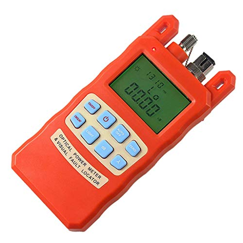 nouler Juler Advanced Handheld Optical Power Meter with 30Mw Visual Fault Locator and Fiber Optic Cable Tester. -70 to + ()