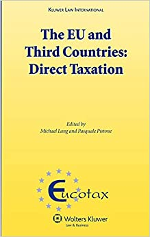 Lang - The Eu And Third Countries: Direct Taxation