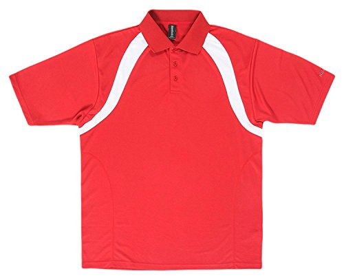 Reebok Men's Playdry Athletic Performance Polo Shirt