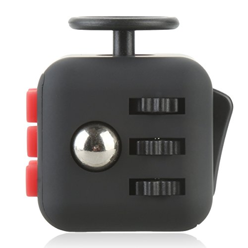 Fidget Cube,Vafru Mini Magic Cube anti irritability anxiety pressure finger hyperactivity decompression toy dice cube - 4