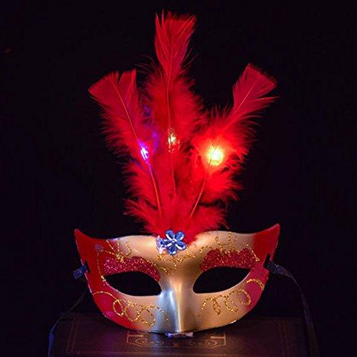 Mask With Led Eyes - 9