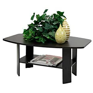 Furinno 10025 (11179) Simple Design Coffee Table, Espresso by Furinno