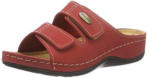Red EU 36 Taupe Tamaris 27510 500 Femme Mules Rot qX0pF