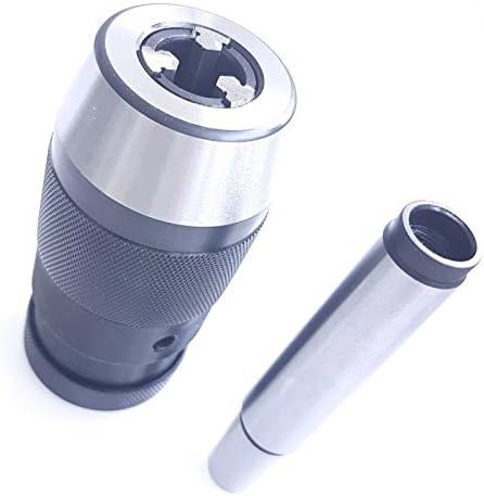 1 portabrocas para brocas MK1-MK4 de 0,2-16 mm 1 adaptador de tallo c/ónico