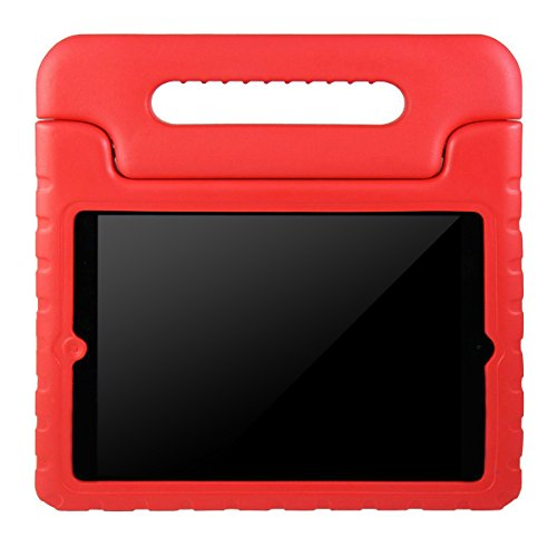 AVAWO Apple iPad 2 3 4 Kids Case - Light Weight Shock Proof Convertible Handle Stand Kids Friendly for iPad 2 - iPad 3rd generation - iPad 4th generation Tablet - Red