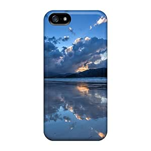 Cynthaskey Case Cover For Iphone 5/5s - Retailer Packaging Sky Protective Case