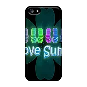 Premium Protective Hard For Iphone 5/5S Phone Case Cover - Nice Design - Ilovesummer