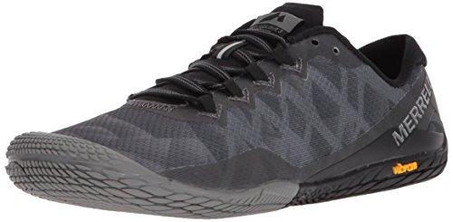 Merrell Women's Vapor Glove 3 Sneaker, Black/Silver, 8 M US