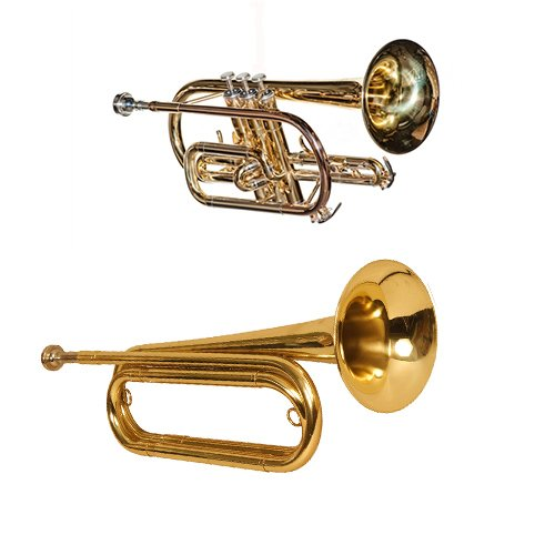 Band Directors Choice Brass Pack - Lacquer Cornet & Bugle by Band Directors Choice