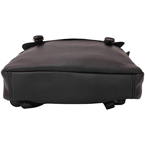 à Sac O poches noir Lapis Sac femme dos à dos multi Lupo design Ebony pour fa1EEFxtwq