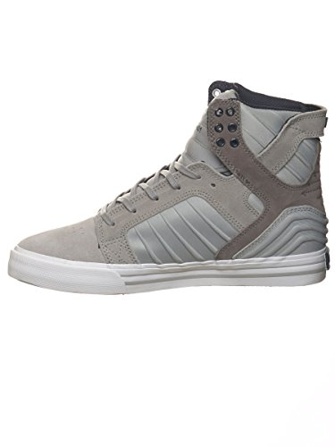 Supra Schuh Skytop Evo Grau-weiß